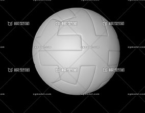 Ball for the 2018 World Cup Broadcast 3D model