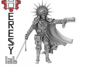 Heresylab - Steam Punk Obediah Marsh 3D printable model