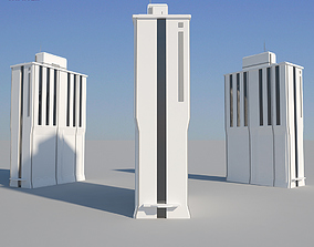 Industrial Building 06 3D model low-poly