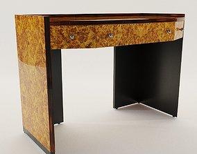 Desk table - Art Deco style 3D