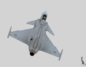 3D JAS-39 Gripen