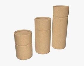 Craft paper tube 3D