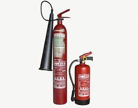 3D asset Building fire equipment