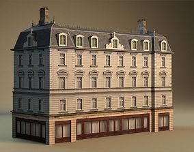model 3D model European building 03