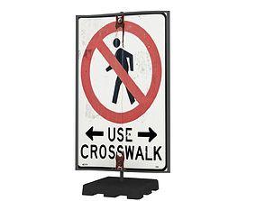3D model Street Sign 07