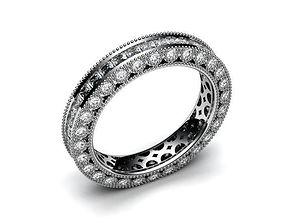 jewelry clock rings 3D print model