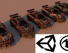 Battle Car 4 3D model