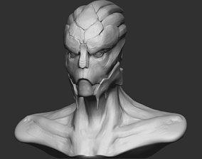 3D printable model Garrus from Mass Effect