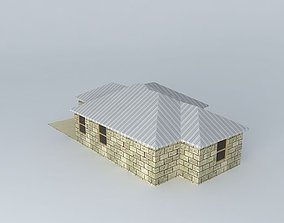 3D model Rustic Cabin