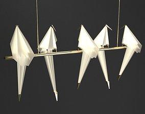 Lighting 07 - Bird Pendant 3D model