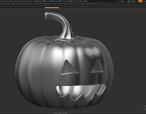 3D print model halloween pumpkin 12