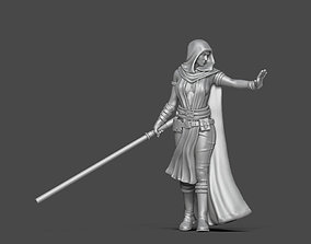 Mara Jade 35mm scale 3D print model