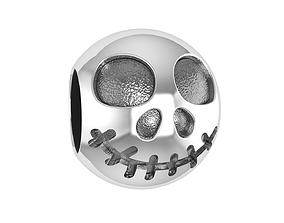 Skull bead 3D print model