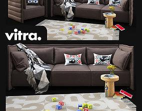 3D model furniture-set Alcove Plume Vitra Set