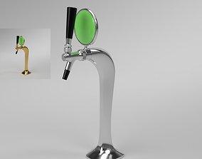 3D model Beer Tower Cobra 1-way Blender Cycles
