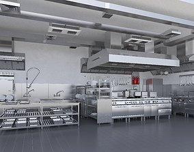 Commercial Kitchen v2 3D model