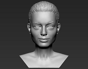 Margot Robbie bust 3D printing ready stl obj
