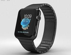 3D Apple Watch Series 2 42mm Stainless Steel Case Black