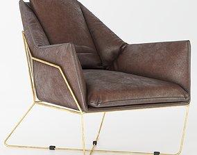 crosshaven accent chair 3D model