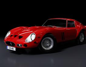 3D model Ferrari 250 GTO 1962