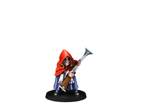 toys Little Red Riding Hood 3D print model