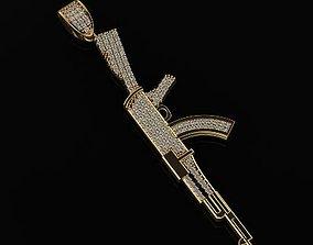 AK47 Jewelry necklace Unisex Models cam