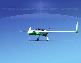 Rutan Long-EZ V12 3D model