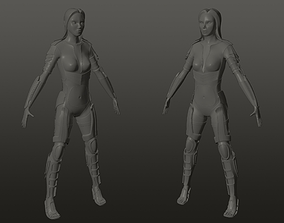 3D printable model character