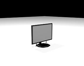 3D model Desktop Monitor