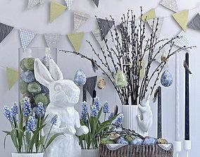 3D model Easter set - 2
