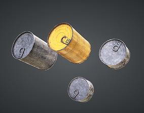 Cans Mix Pack 3D asset