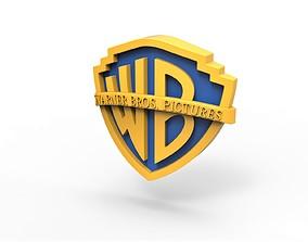 3D printable Warner Bros Pictures logo