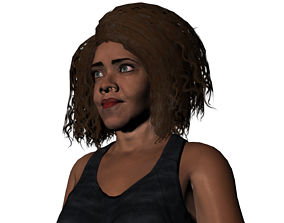 Sophia gang of black dogs 3D model