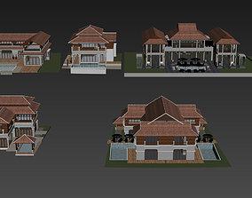 Resort Bangalow 3D models