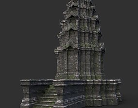3D model Ruin Ancient Temple - Khmer Architecture B 04