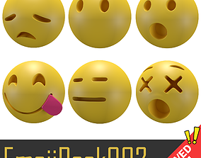 Emoji Pack 002 3D model