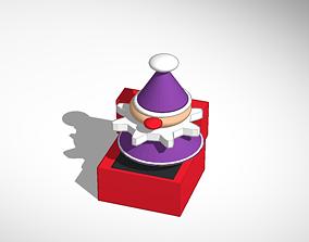 Jack in the box model 3D