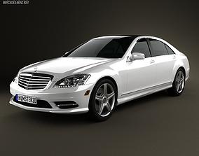 3D Mercedes-Benz S-Class W221 2012