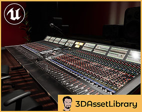 3D asset Mixing Desk Vol 1 For Unreal