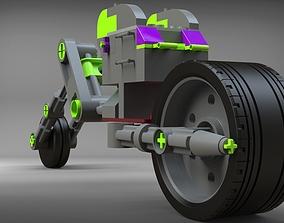 Motorcycle Lego 3D model