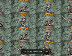 3D model HQ Heroes collection