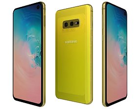Samsung Galaxy S10e Canary Yellow 3D