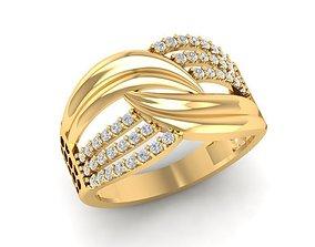 3D print model 511 Diamond Ring for Women