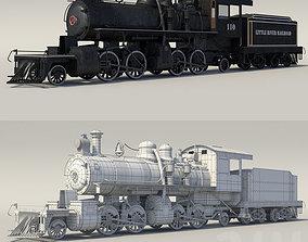 3D asset steam train