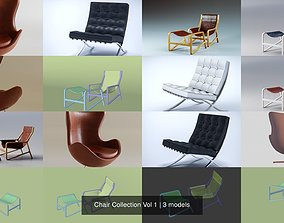 Chair Collection Vol 1 3D