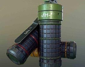3D model MH-x3 Grenade