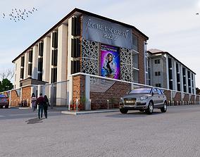 3D model hostel