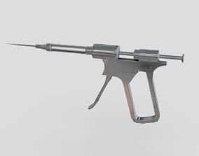 3D model Injection Gun