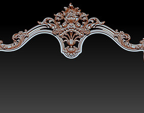 Bed 3D relief models STL Files used for CNC Router 3D 1