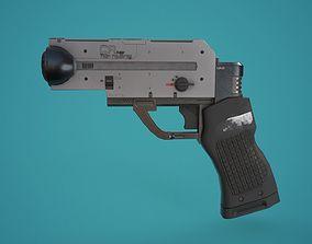3D asset Sci-Fi Laser Pistol FPS